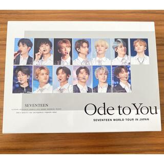セブンティーン(SEVENTEEN)のSEVENTEEN WORLD TOUR Ode toYou 初回限定盤 DVD(韓国/アジア映画)