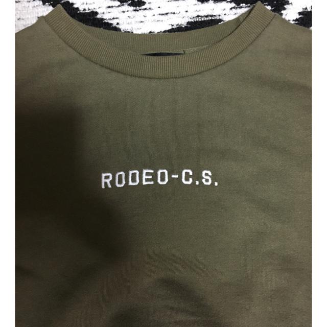 RODEO CROWNS(ロデオクラウンズ)のRODEO CROWNS ロデオクラウンズ   スウェットトレーナー レディースのトップス(トレーナー/スウェット)の商品写真