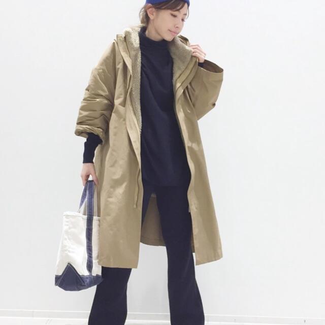 L'Appartement DEUXIEME CLASSE(アパルトモンドゥーズィエムクラス)の★美品★ES:S/エス MOUNTAIN COAT  レディースのジャケット/アウター(ロングコート)の商品写真