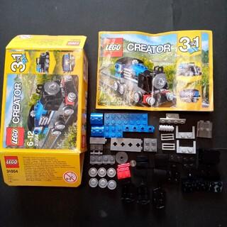 レゴ(Lego)のレゴ クリエイター 31054 3IN1 機関車 客車(電車のおもちゃ/車)