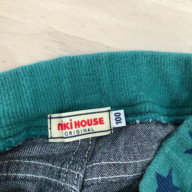 mikihouse(ミキハウス)のミキハウス 半ズボン100センチ キッズ/ベビー/マタニティのキッズ服男の子用(90cm~)(パンツ/スパッツ)の商品写真