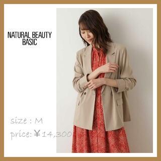 NATURAL BEAUTY BASIC - NATURAL BEAUTY BASIC 【Oggiコラボ】麻混ボクシーJK M