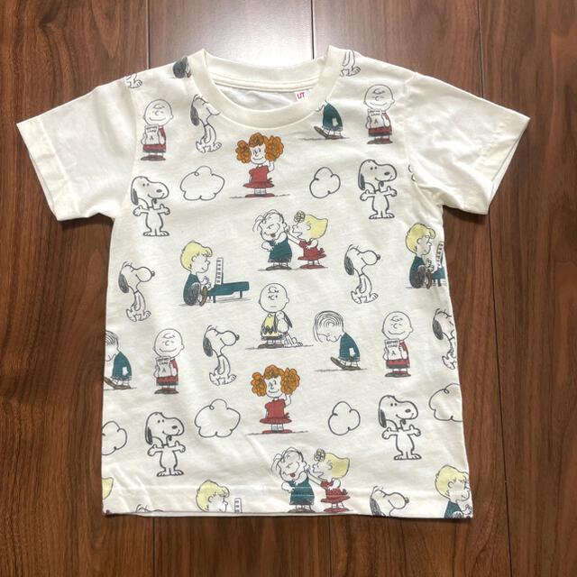 UNIQLO(ユニクロ)のUNIQLO ユニクロ スヌーピー Tシャツ 100cm キッズ/ベビー/マタニティのキッズ服男の子用(90cm~)(Tシャツ/カットソー)の商品写真