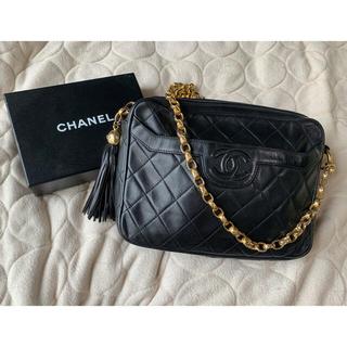 CHANEL - 美品❤️シャネル CHANEL マトラッセ   チェーン ショルダー バッグ
