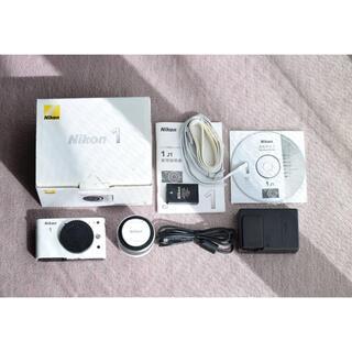 Nikon - Nikon NIKON 1 J1 WHITE