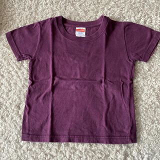 パープル半袖Tシャツ★100センチ(Tシャツ/カットソー)