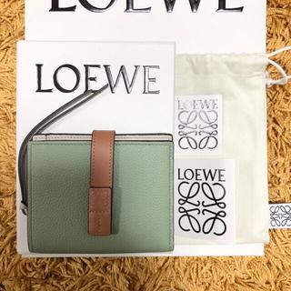 LOEWE - 再入荷【本物】ロエベ コンパクト ジップウォレット ローズマリー