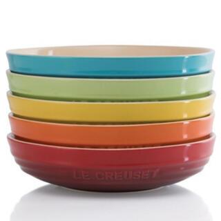 ルクルーゼ(LE CREUSET)のLe Creuset  ラウンド・ディッシュ 20cm  レインボー(食器)