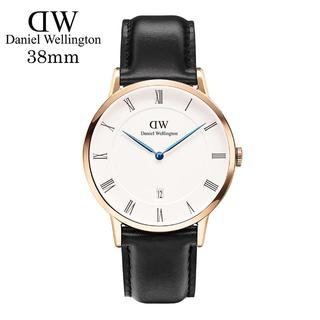 ダニエルウェリントン(Daniel Wellington)のDanielWellingtonピンクゴールド腕時計1101DW38mm【青針】(腕時計(アナログ))