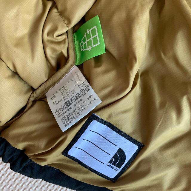 THE NORTH FACE(ザノースフェイス)のノースフェイス ダウン 90サイズ キッズ/ベビー/マタニティのキッズ服男の子用(90cm~)(ジャケット/上着)の商品写真