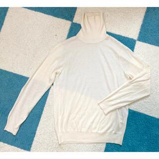 TOMORROWLAND - トゥモローランド メンズ スプリングセーター ホワイト XS