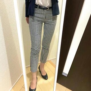 アオキ(AOKI)のスーツ クロップドパンツ ギンガムチェック(クロップドパンツ)