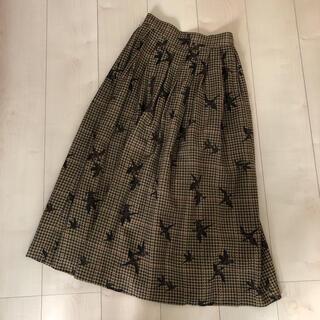 ジェイプレス(J.PRESS)のスカート  S(ひざ丈スカート)