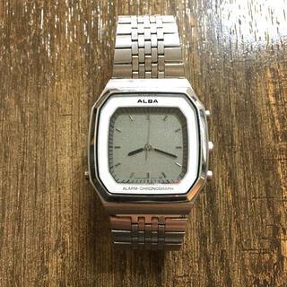 セイコー(SEIKO)のSEIKO ALBA 二重面相 腕時計(腕時計(デジタル))