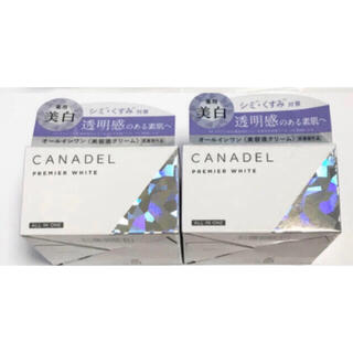 CANADEL カナデル プレミアホワイト オールインワン ×2