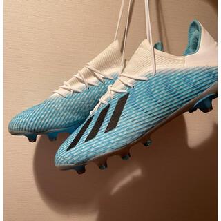 アディダス(adidas)のアディダス x19.2HG AG 27.5 us10(サッカー)