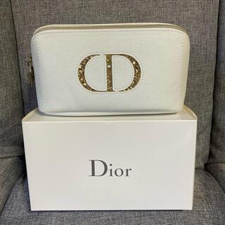 Dior - 新品未使用 ディオール ホワイト ポーチ