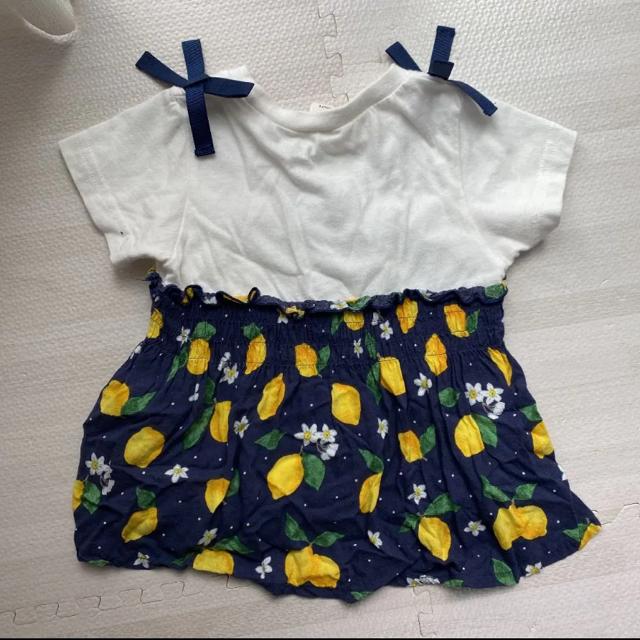 petit main(プティマイン)のトップス 2枚セット キッズ/ベビー/マタニティのキッズ服女の子用(90cm~)(Tシャツ/カットソー)の商品写真