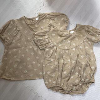 フタフタ(futafuta)のテータテート 姉妹 お揃い トップス(Tシャツ/カットソー)