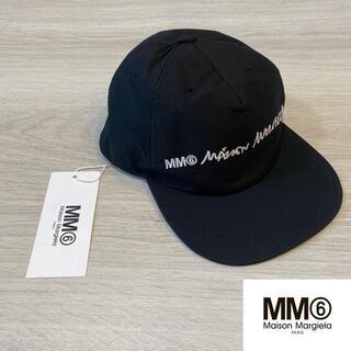 マルタンマルジェラ(Maison Martin Margiela)の正規 MM6 Cap Black Logo 018(キャップ)