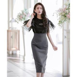 EmiriaWiz - 【Emiriawiz】レザーストラップタイトスカート