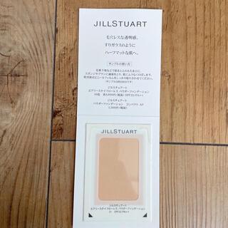 ジルスチュアート(JILLSTUART)のジルスチュアート パウダーファンデーション試供品(サンプル/トライアルキット)