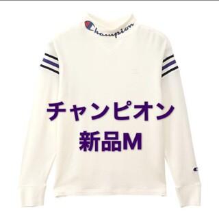 Champion - 【新品タグ付き】チャンピオン ゴルフウエア レディース M 白 ホワイト 長袖