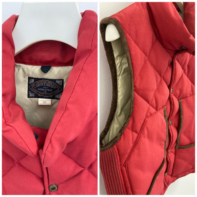 JOURNAL STANDARD(ジャーナルスタンダード)のジャーナルスタンダードホームステッド ダウンベスト メンズのジャケット/アウター(ダウンベスト)の商品写真