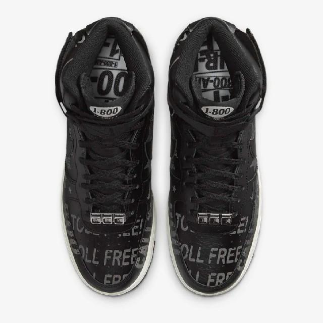 NIKE(ナイキ)の30cm★AIR FORCE 1 HIGH 07 PRM 1-800 BLACK メンズの靴/シューズ(スニーカー)の商品写真