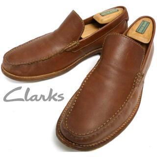 クラークス(Clarks)のclarks クラークス レザー ローファー / スリッポンシューズ26cm(スリッポン/モカシン)