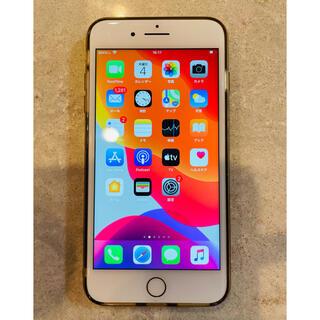 アップル(Apple)のiPhone8plus ゴールド(スマートフォン本体)