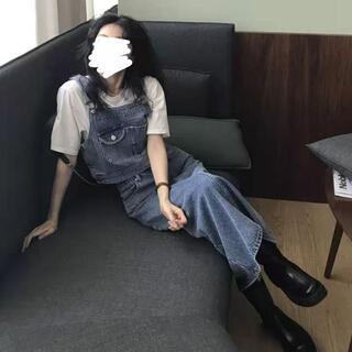 日本の復古デニムスカートaスカート2点セット