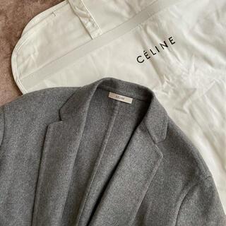 celine - 希少❤️ セリーヌ celine エッグクロンビーコート カシミア グレー