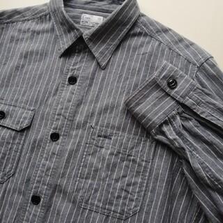 コーエン(coen)のCOEN/ストライプワークシャツ/美USED(シャツ)