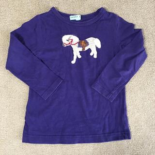 ハッカキッズ(hakka kids)のhakka Baby hakka kids ハッカ 長袖 ポニー 110 匿名(Tシャツ/カットソー)