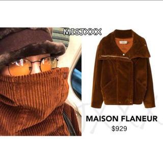 PEACEMINUSONE - MAISON FLANEURコーデュロイライダースジャケット G-DRAGON