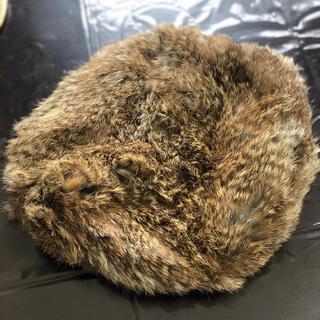 スナイデル(snidel)のsnidel ラビットファー帽子(ハンチング/ベレー帽)