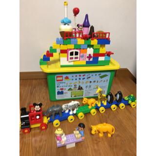 Lego - LEGO duplo 楽しい動物園 ミッキー&ミニー