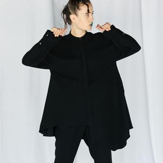 ENFOLD - 新品★ENFOLD エンフォルド ツイルフレアシャツ ブラウス