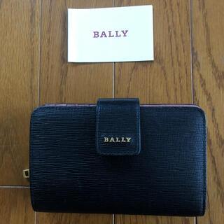 バリー(Bally)の週末セール美品 バリー 二つ折財布 ブラック(財布)