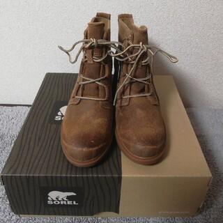 ソレル(SOREL)の新品SOREL ソレルレザーショートブーツ23.5cm(ブーツ)