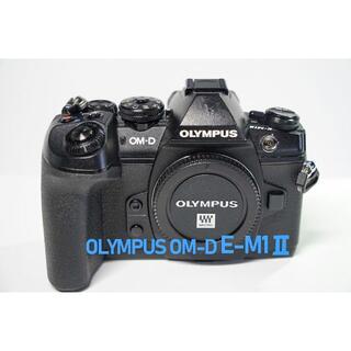 OLYMPUS - 【シャツター 4593回 】OLYMPUS OM-D E-M1 Ⅱ (美品)