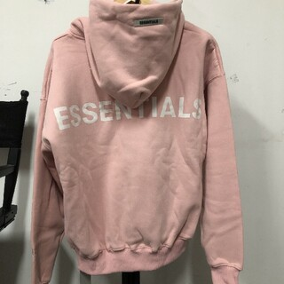 FEAR OF GOD - ESSENTIALS Pullover Hoodie Pink