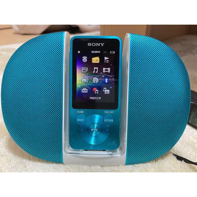 SONY(ソニー)のSONY ウォークマン スマホ/家電/カメラのオーディオ機器(ポータブルプレーヤー)の商品写真