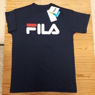 FILA - 新品タグ付き 紺 フィラ Tシャツ