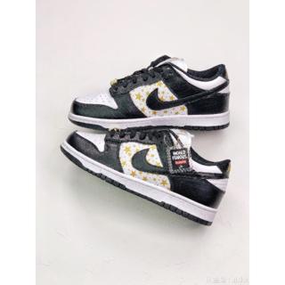 NIKE - Supreme X Nike SB Dunk Low Black Stars