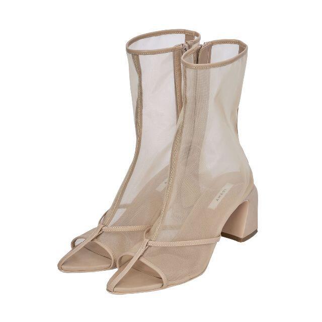 Ameri VINTAGE(アメリヴィンテージ)の★Ameri VINTAGE★ SANDAL LIKE BOOTS ベージュ M レディースの靴/シューズ(ブーツ)の商品写真