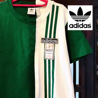 adidas - アディダス アディブレイク グリーン Tシャツ トップス ジャージ ジャケット