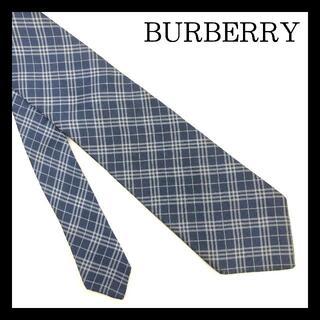 BURBERRY - BURBERRY LONDON ネクタイ チェック柄