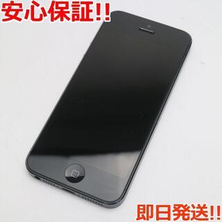 Apple - 美品 au iPhone5 16GB ブラック 白ロム